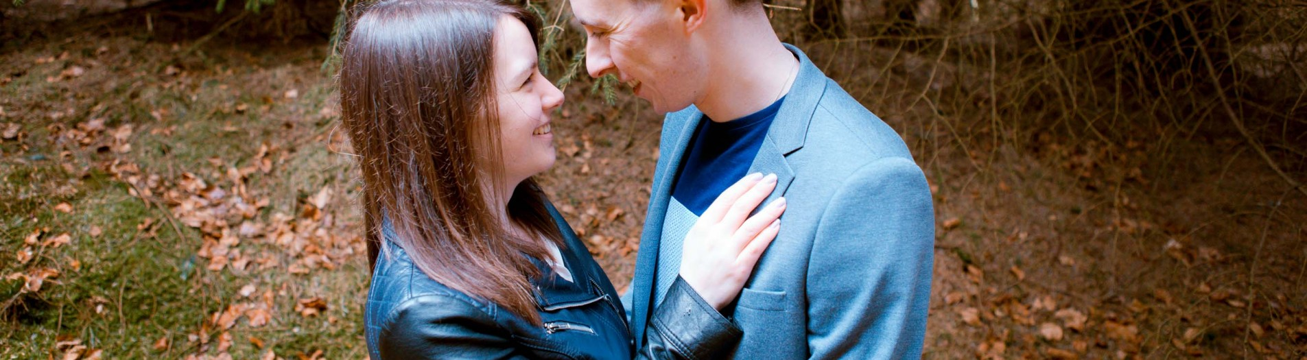 Scarborough Engagement Shoot/ Scarborough Woodland// Sarah and Richard