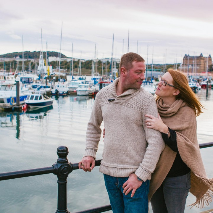 Scarborough Engagement Shoot/ Scarborough South Bay//Graham&Lucy