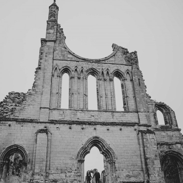 Byland Abbey/ Coxwold// Chloe and Wesley