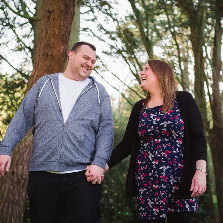 Scarborough Engagement Shoot/ Scarborough North Bay//Rebecca and James