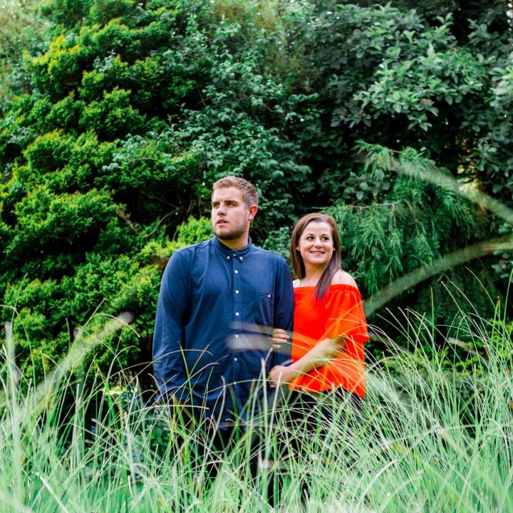 Bridlington Engagement Shoot/Sewerby Hall//Charlotte and Levi