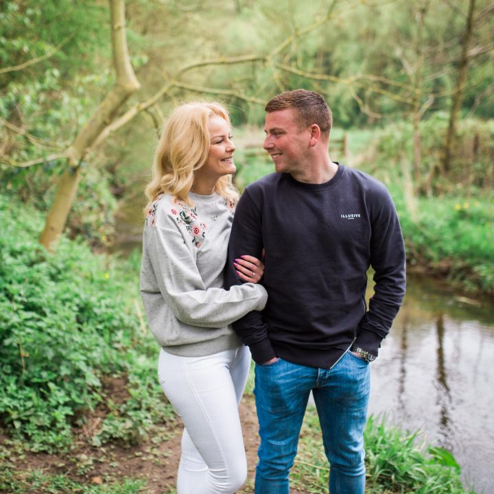 Scarborough Engagement Shoot/Forge Valley//Hannah and  Sam