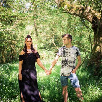 Scarborough Engagement Shoot/ Raincliffe Woods//Kyrah and Sean
