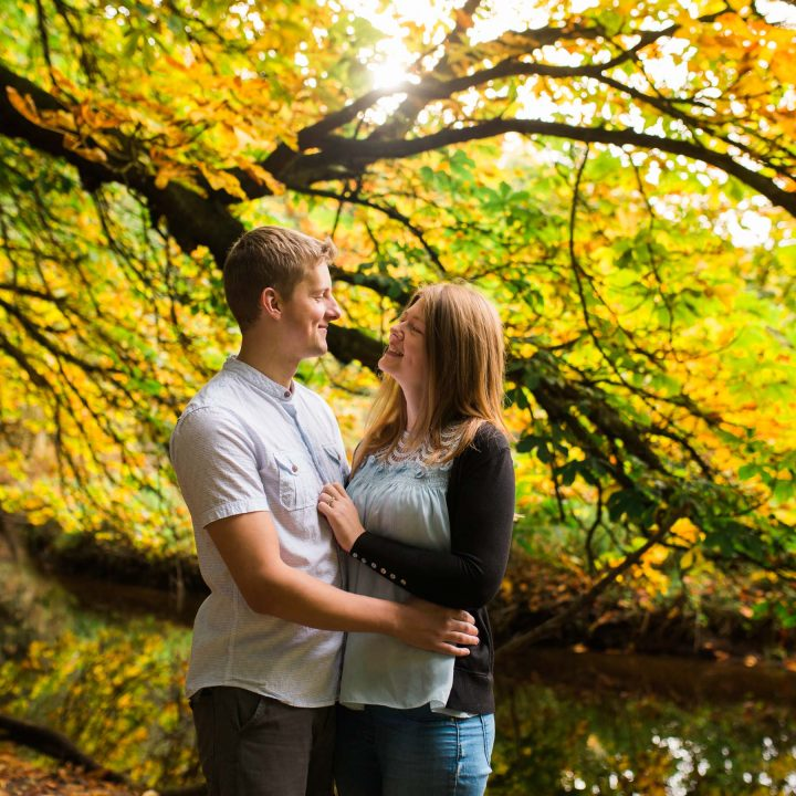 Scarborough Engagement Shoot/Forge Valley//Vickie and Jon-Paul