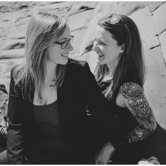 Scarborough Engagement Shoot/Chloe and Annie
