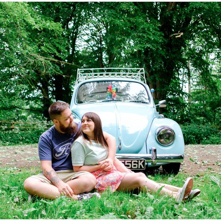 Scarborough Engagement Shoot/Raincliffe Woods//Hayley & Lee