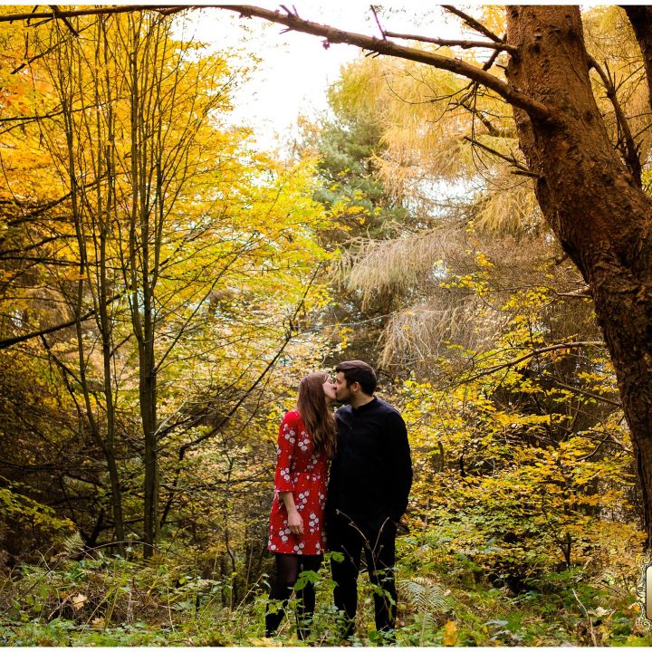 Scarborough Engagement Shoot/Raincliffe woods//Kirstie and Mladen